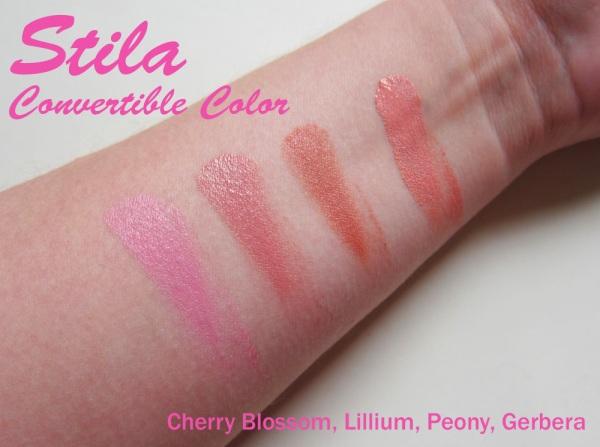 Stila Convertible Color - Cherry Blossom, Lilium, Peony, Gerbera