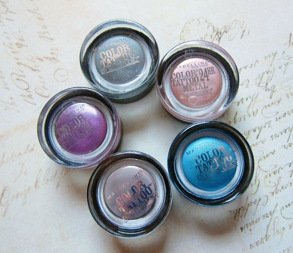 Maybelline Color Tattoo 24 Hour Cream Eyeshadows