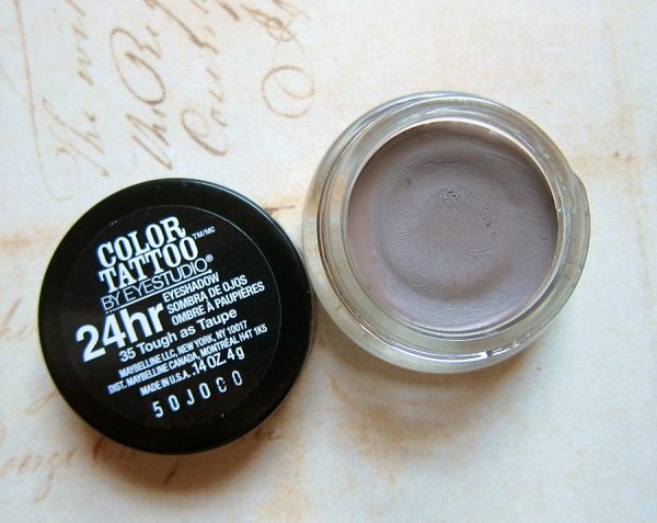 Maybelline Color Tattoo 24 Hour Cream Eyeshadow - Tough as Taupe