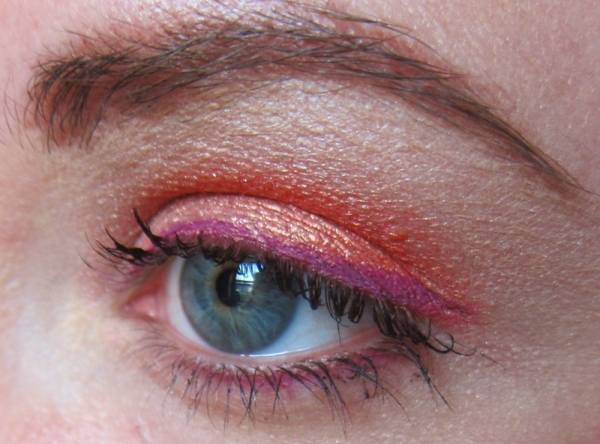 Soft Sunset Look - Eyes