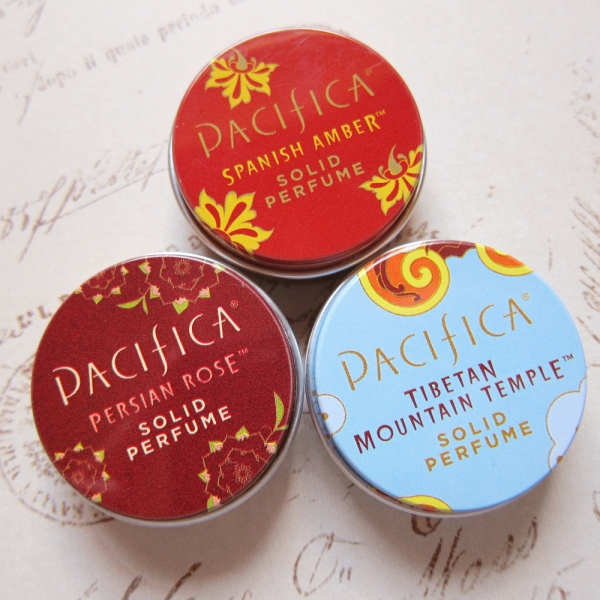 Pacifica Solid Perfume Samples