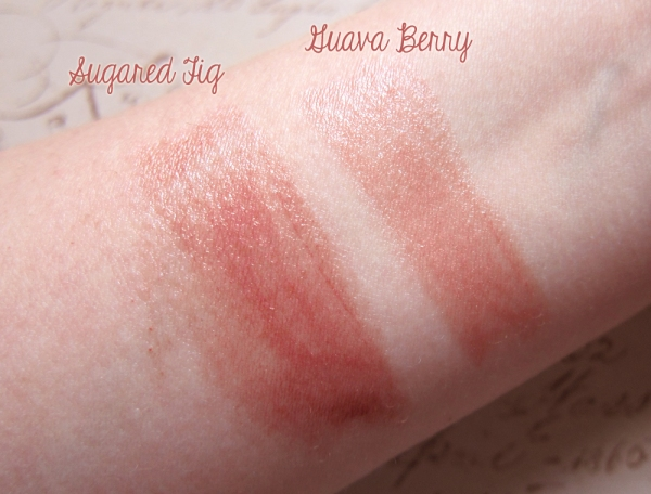 Pacifica Color Quench Lip Tints - Sugared Fig and Guava Berry