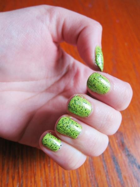 Saint Patty's Manicure