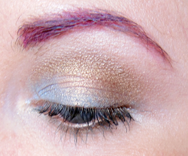 Eye look with Maybelline Color Tattoo in Seashore Frosts