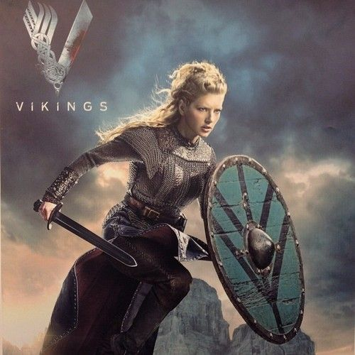 """You couldn't kill me if you tried for a hundred years"" - Lagertha"