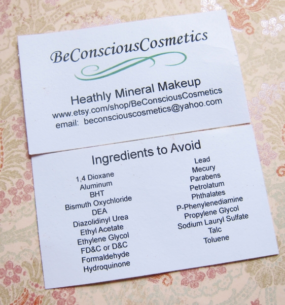 Be Conscious Cosmetics