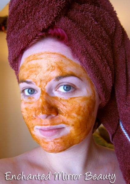 Margarita Bloom Charmed I'm Sure Pumpkin Facial Masque