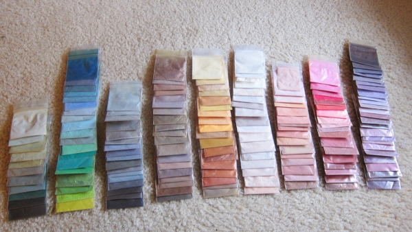 Eyeshadow Sample Collection