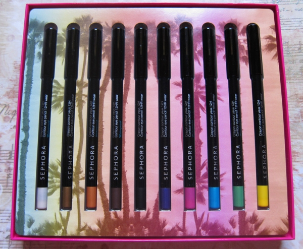 Sephora Collection 10 Shades of Samba Eyeliner Set