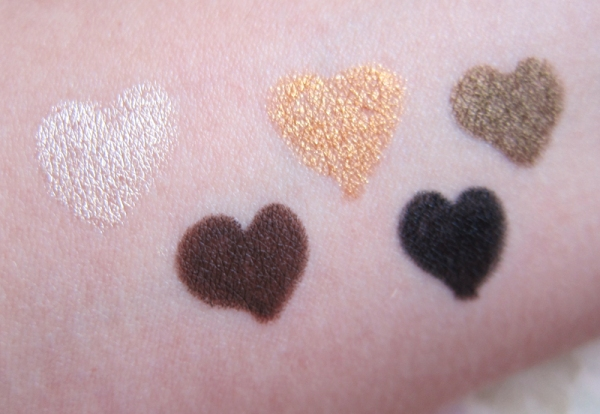 Blonde Ambition, Tropical Dancefloor, Cookie Crunch, Tiramisu, Black Lace
