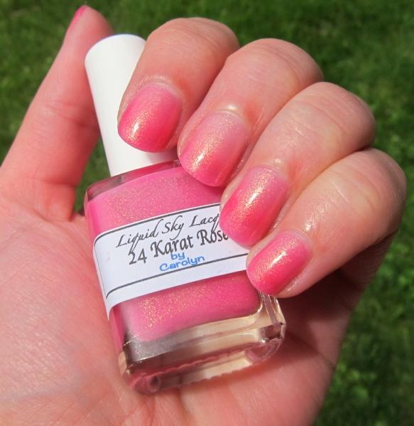 Liquid Sky Lacquer - 24 Karat Rose