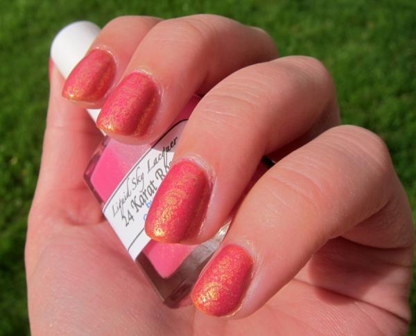 Liquid Sky Lacquer - 24 Karat Rose Stamping