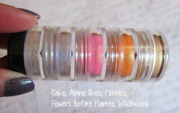 Cake, Alpine Skies, Peebles, Flowers Before Flames, Witchwood