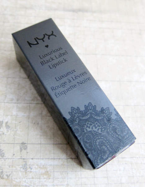 NYX Black Label Lipstick