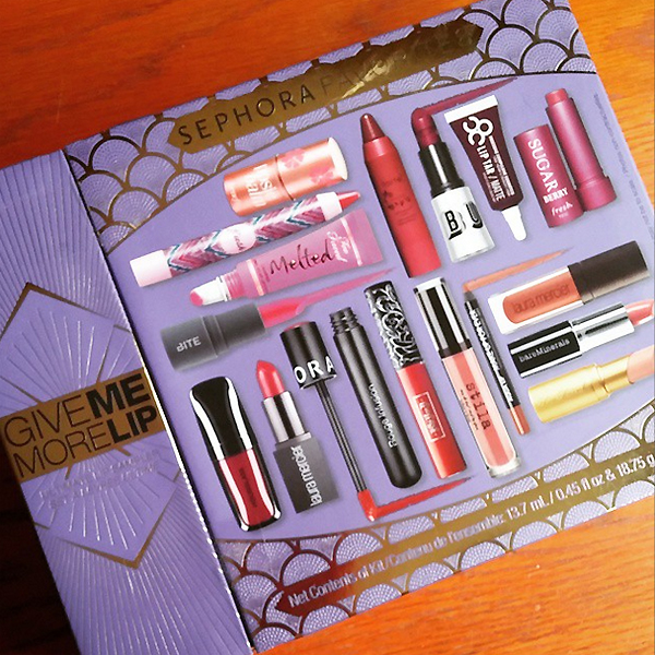 Sephora Collection Give Me More Lip Set