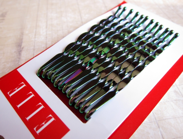 Elle Iridescent Bobby Pins