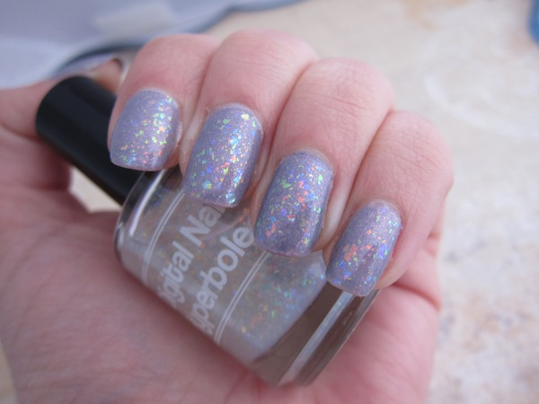 Digital Nails Hyperbole over Emily De Molly Lace Man