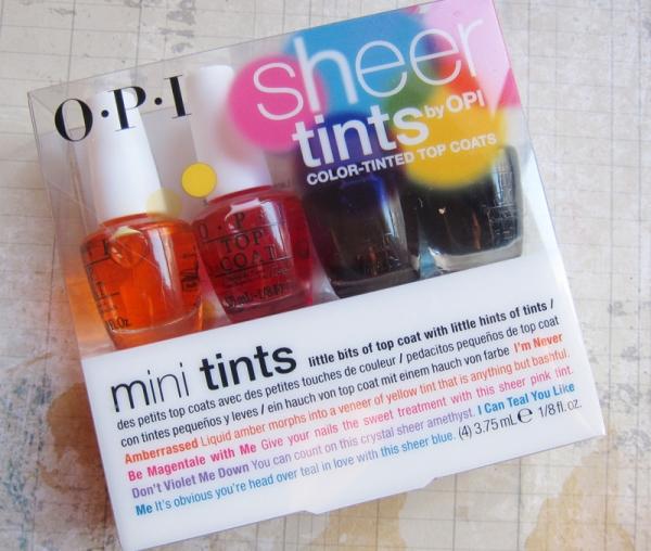 OPI Sheer Tints
