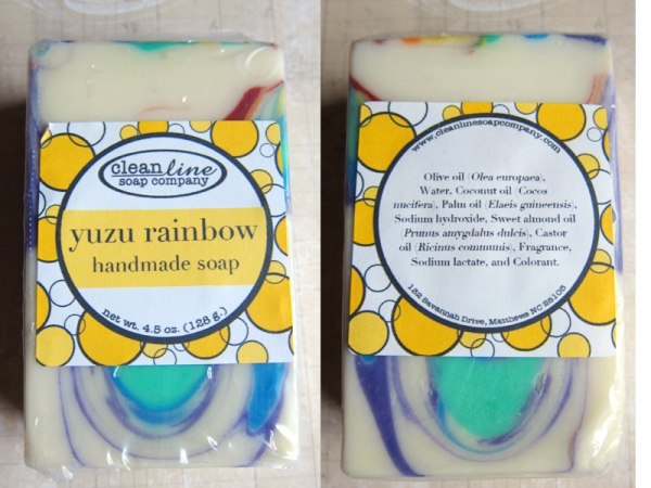 Yuzu Rainbow Soap