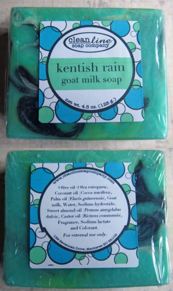 Kentish Rain Goat Milk Soap